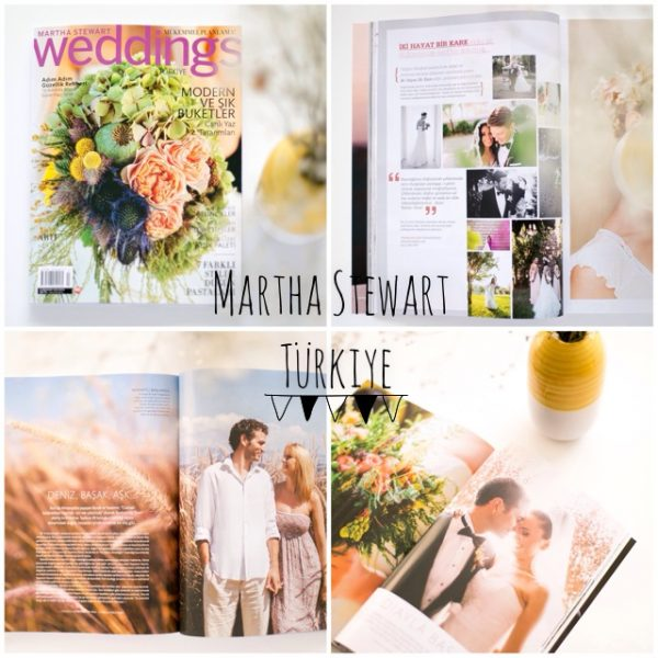 Martha Stewart Weddings // Cover and Stories