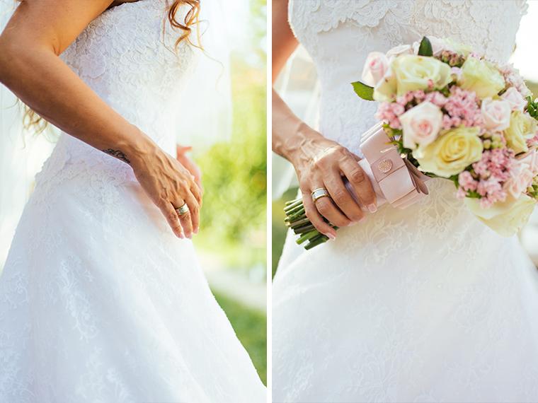 Wedding ring, Bride's wedding ring