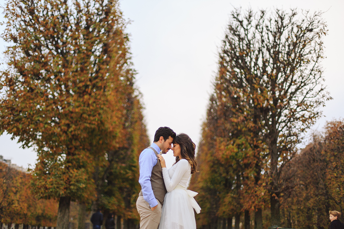 Paris Elopement Photo Shooting