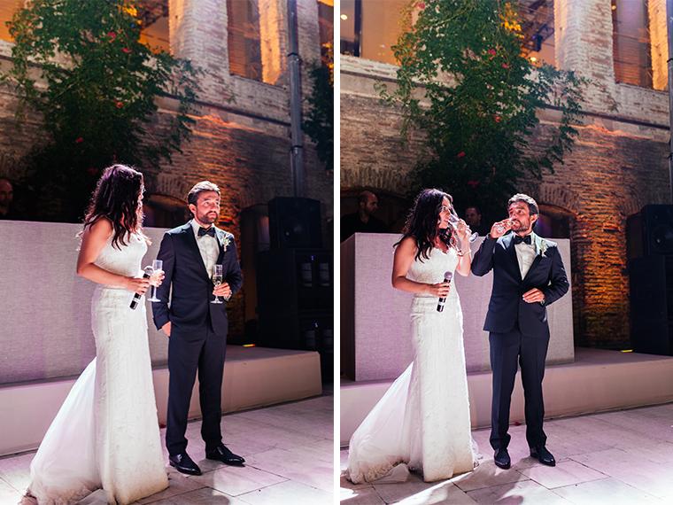 Bride and Groom's speech