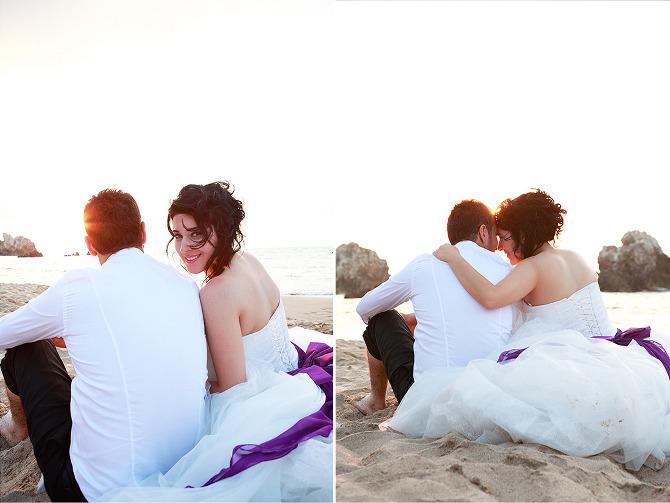 Sahil Evlilik Fotoğrafları - düğün fotoğrafları