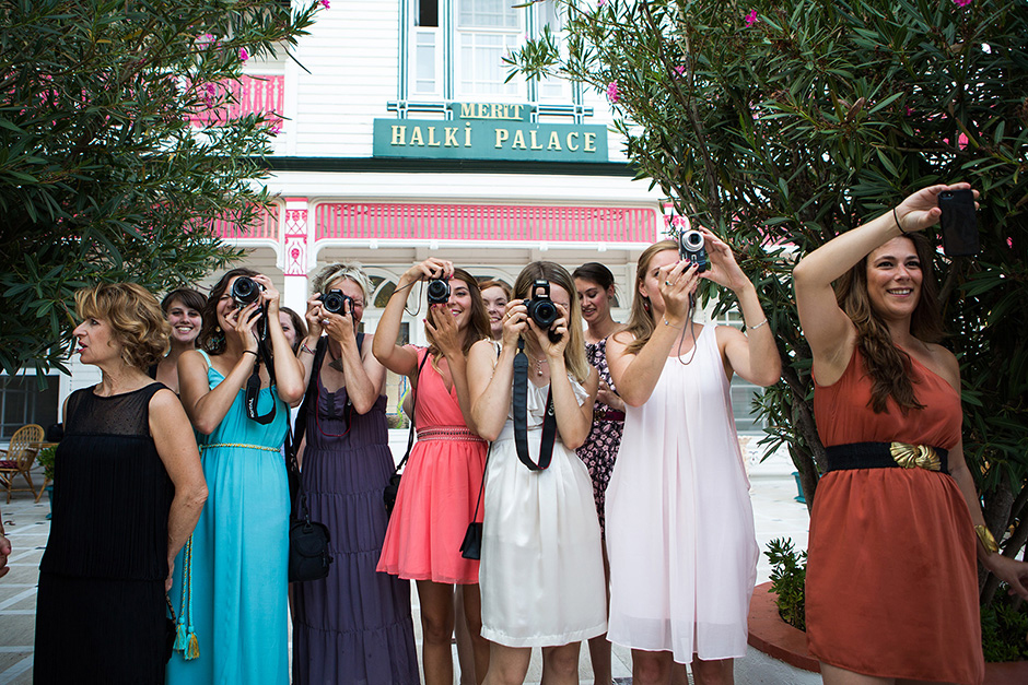 French Girls on Wedding, bridesmaid
