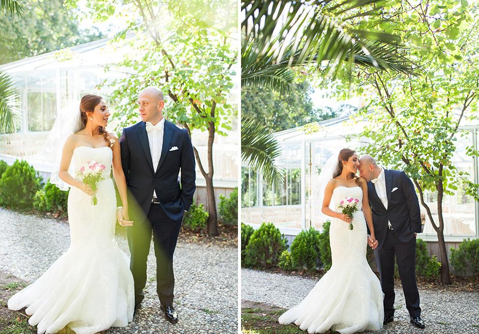 Düğün fotoğraf dış mekan çekimi