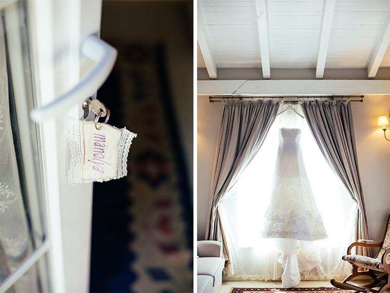 Wedding Details, Bridal hanging