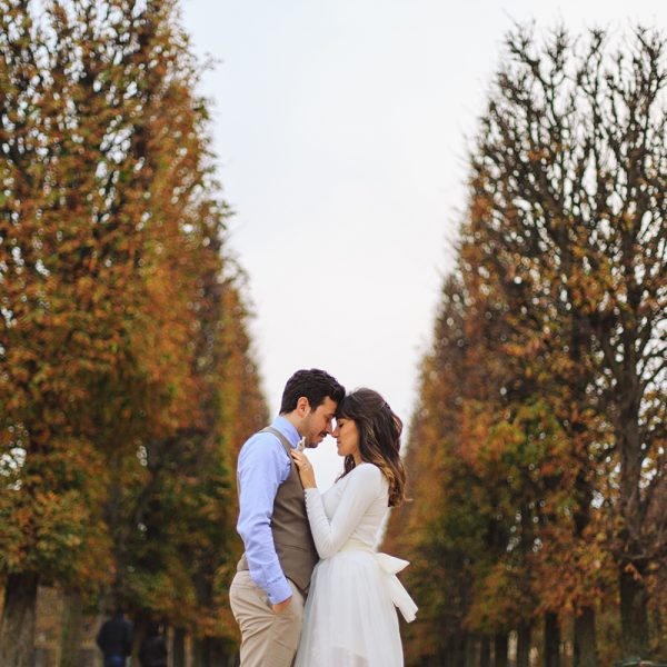 Paris Elopement Photographer // Gizem & Ali