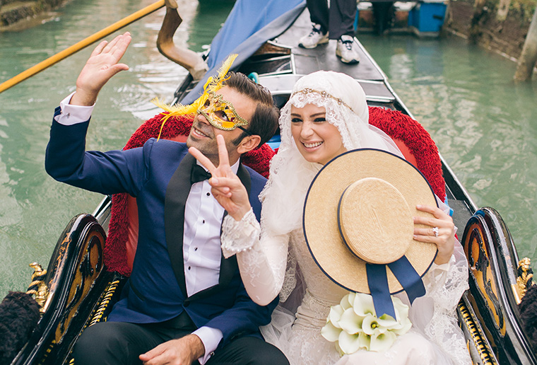 Venice Wedding Photographer // Tugba and Ebubekir