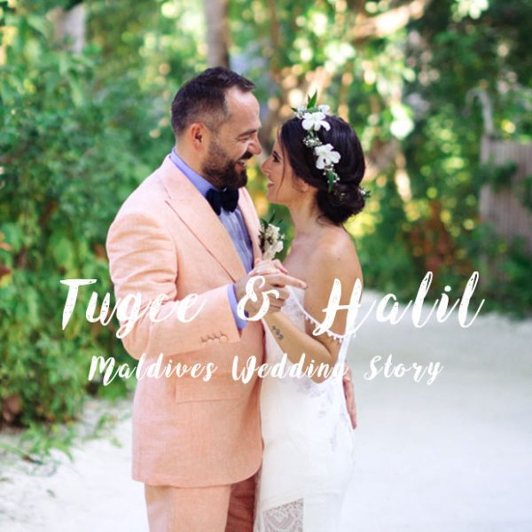Maldives Wedding Photographer - Love in the blue sky - Tuğçe and Halil