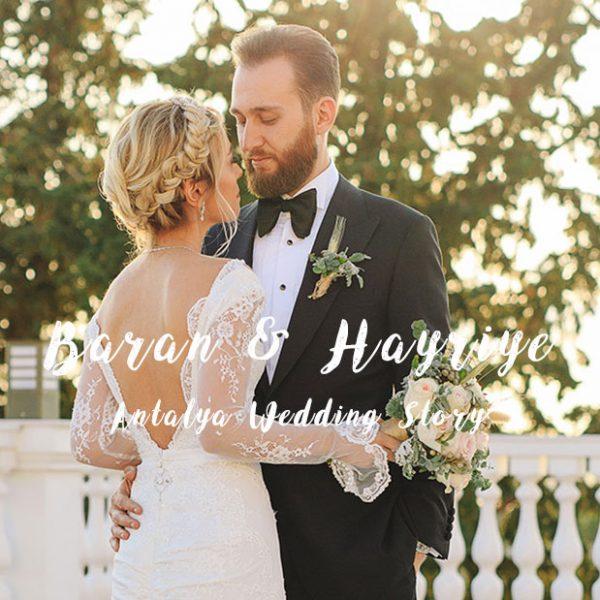 Antalya'da bir düğün hikayesi