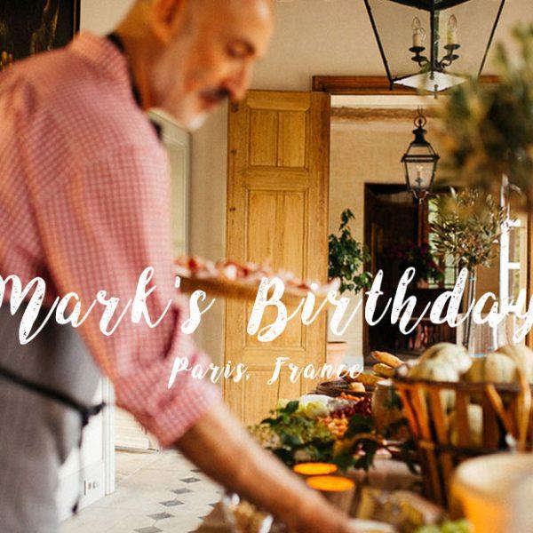 Mark'ın Fransa'da gerçekleşen harika 60 yaş doğum günü